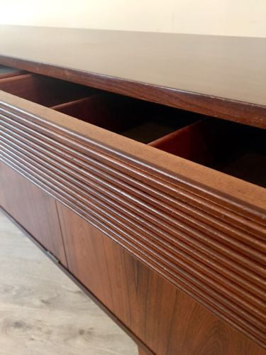 Rare Mid Century Rosewood Sideboard By Elliott's Of Newbury Danish Influence