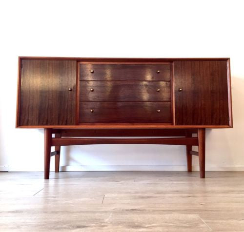 Stunning Mid Century Walnut Sideboard By Gordon Russell Heals Danish Influence