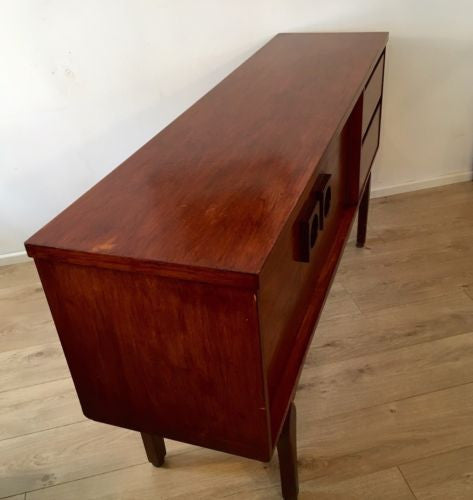 Mid Century Vintage Teak Sideboard 1960s 1970's COURIER
