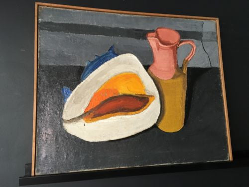 Donald Dean Original Oil Painting 1958 Jug and Shell
