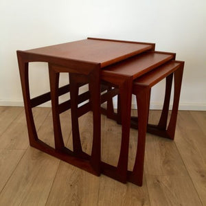 Vintage 1970's G Plan Teak Nest Of Tables