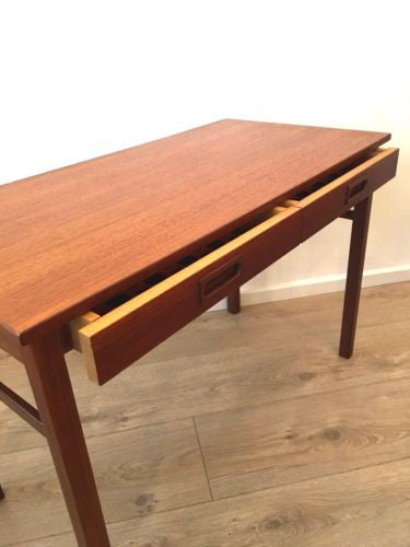 Mid Century Scandinavian Teak Side Table By Skaraborgs Sweden For Heals