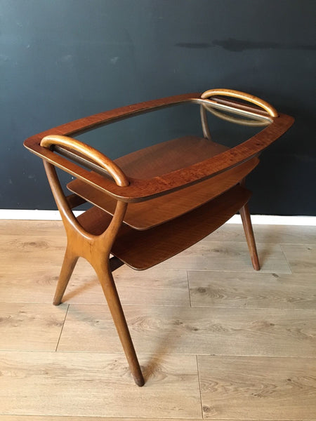 Rare Vintage 1950's Teak Buffet Table By Malcolm Walker For Dalescraft *Courier*