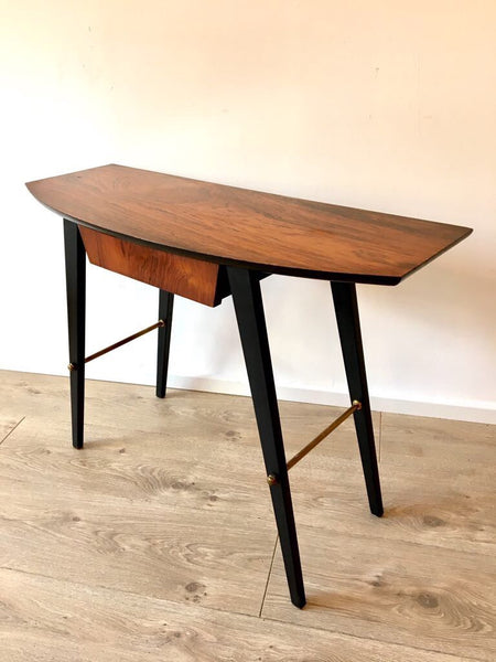 Stunning Mid Century Scandinavian Rosewood side table/hall table/console table.