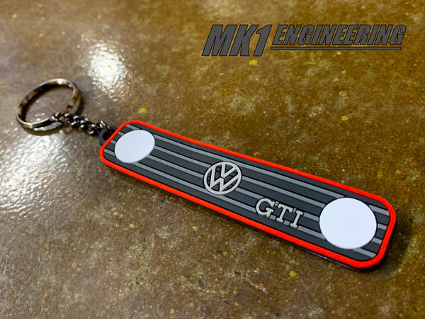 VW MK1 MK2 GTI key chain - Gen VW accessory!-