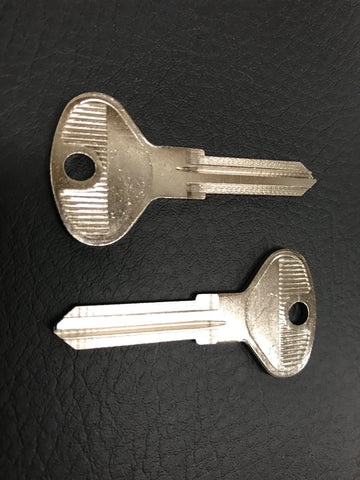 VW Vanagon T3 pre-cut key blanks, pair