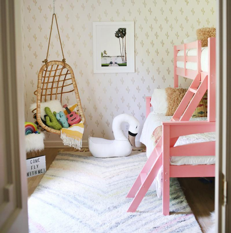 Boho chic: una habitación de invitados family-friendly | avaBanana