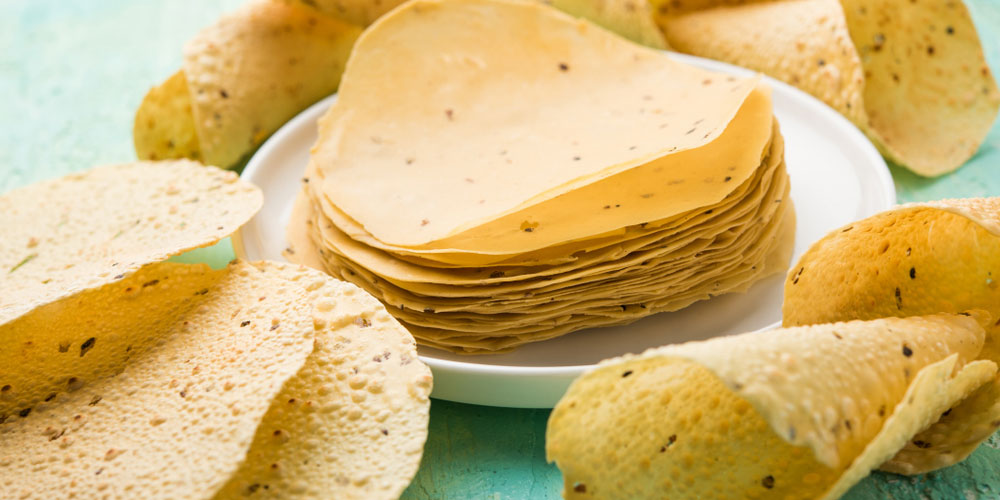 Papadum Lentil Crisps: The Healthier Snack