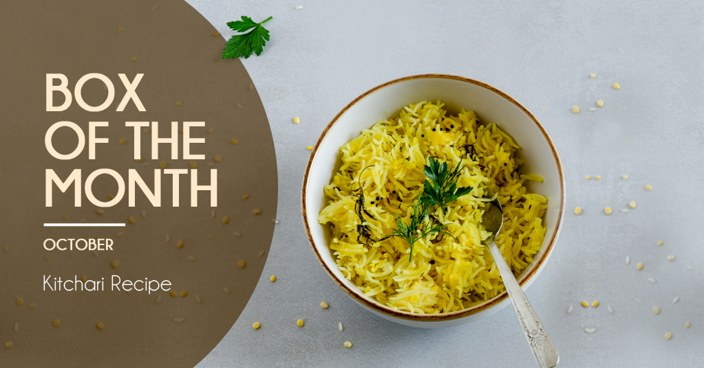 October's Box of the Month - Kitchari