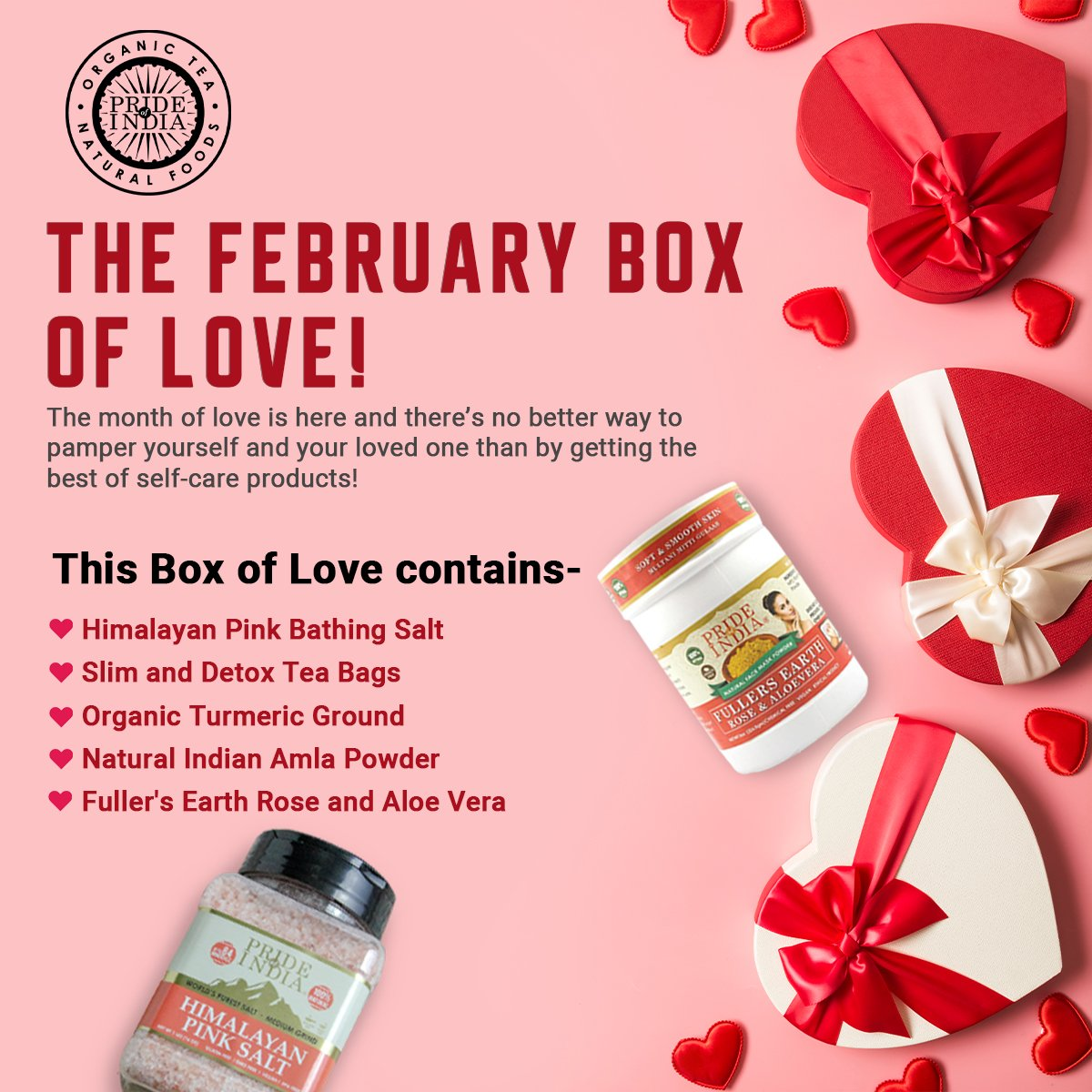 FEBRUARY BOX OF LOVE