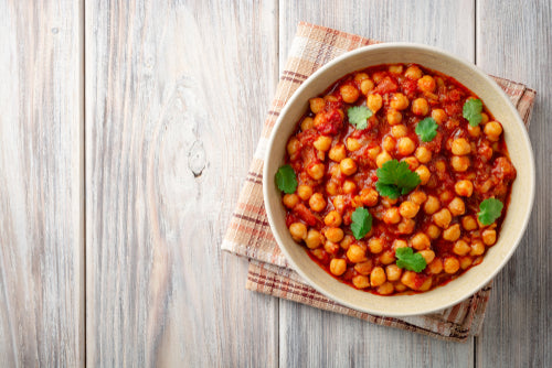 THE DELIGHTFUL CHICKPEA CURRY WITH A TWIST