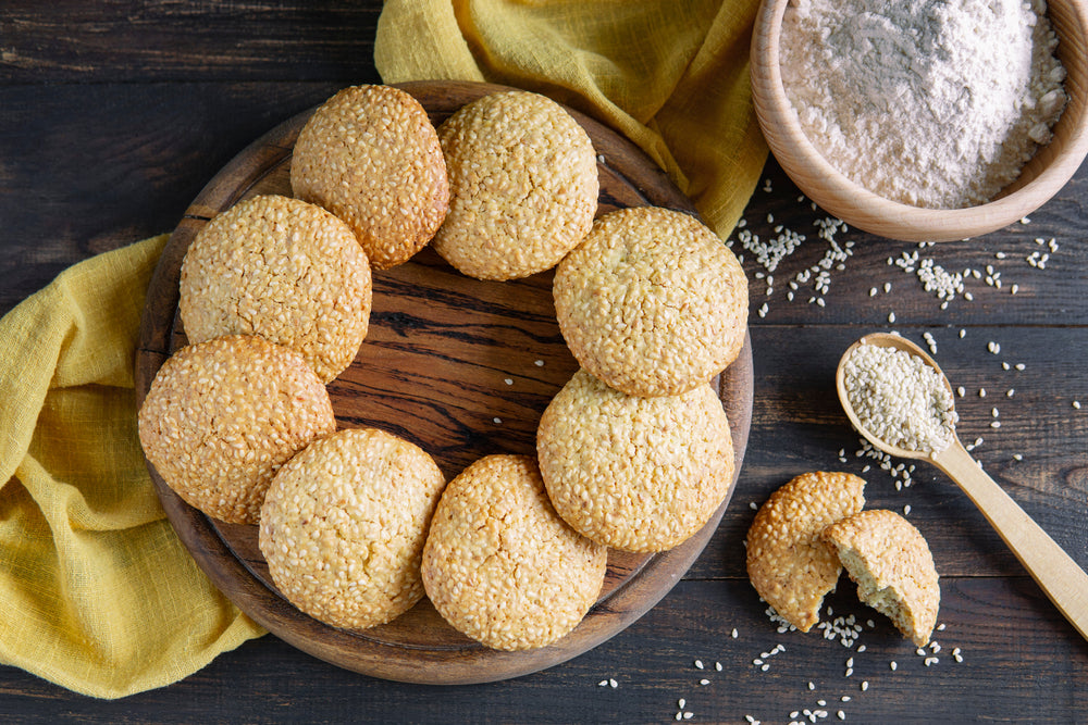 SESAME AND HONEY COOKIES