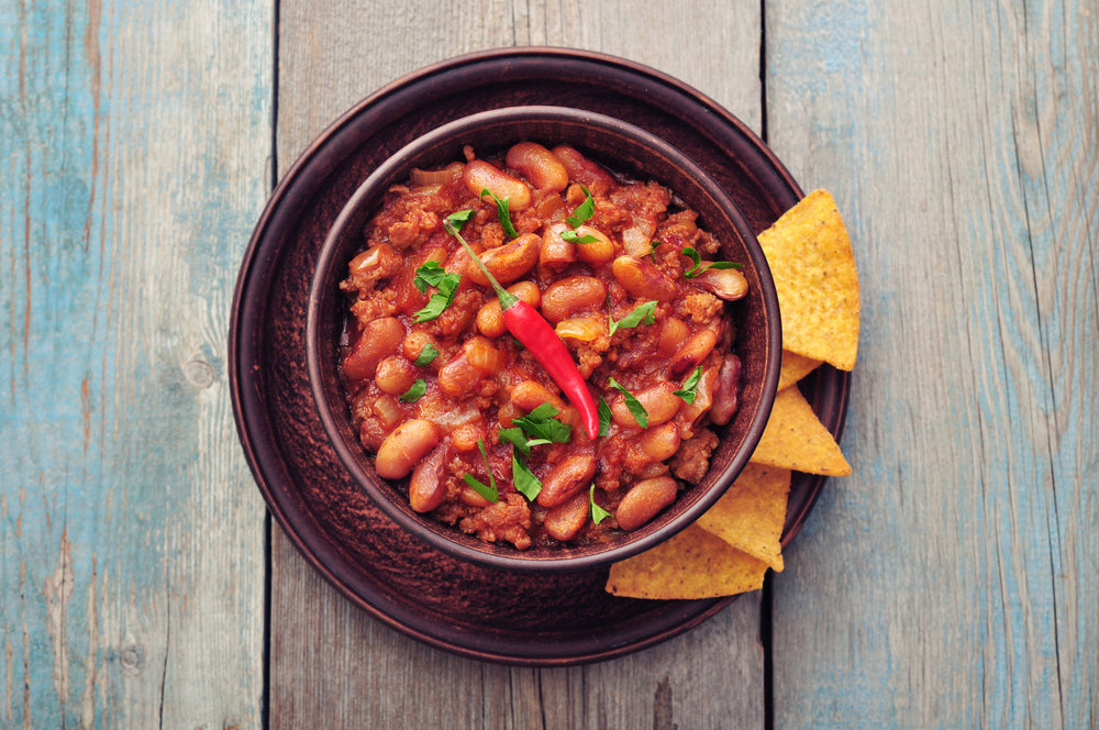 Hot Spicy Mexican-Style Kidney Beans