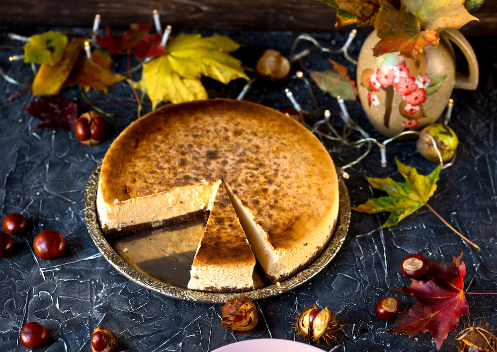 THANKSGIVING SPECIAL CINNAMON BRIOCHE CHEESECAKE