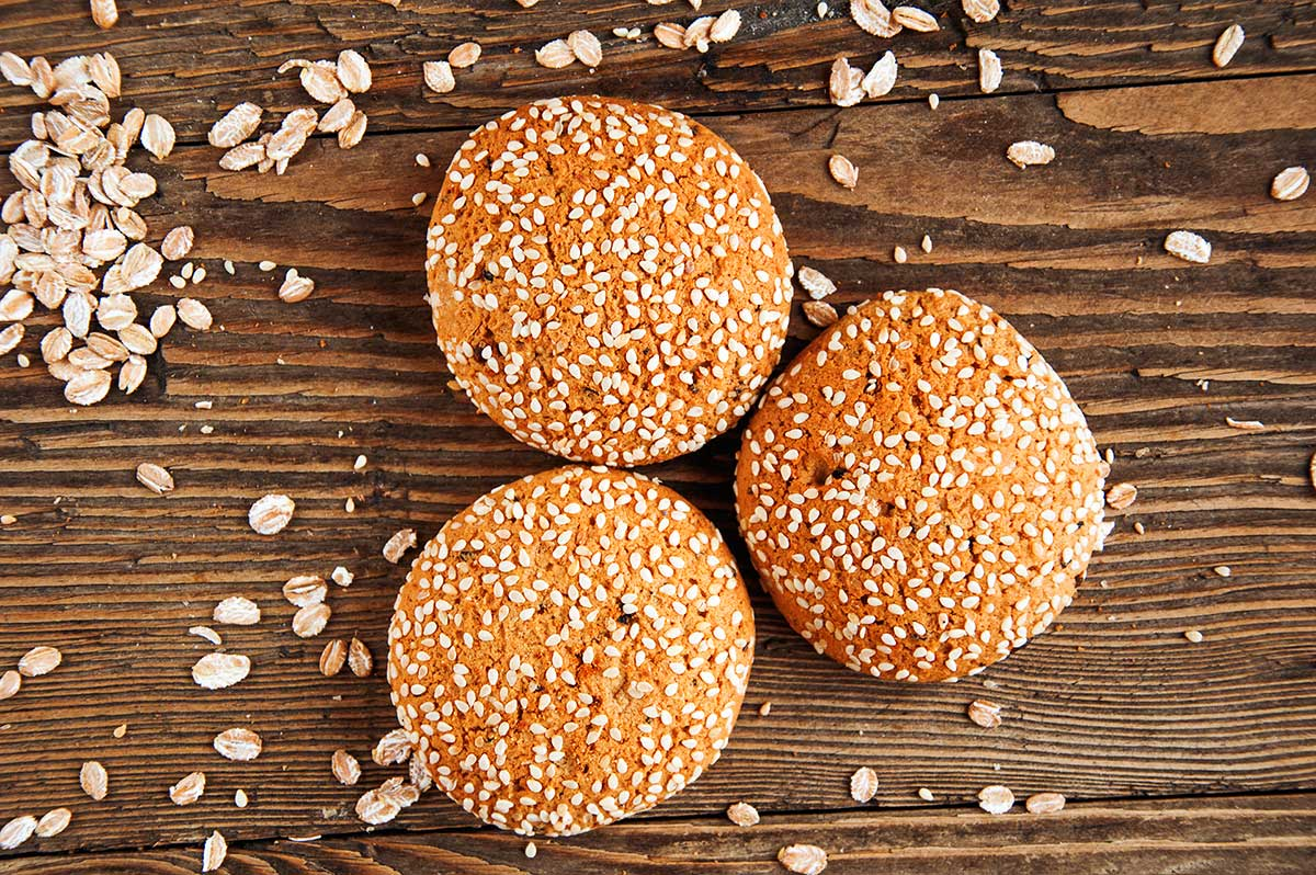 SESAME SEEDS CHRISTMAS COOKIES