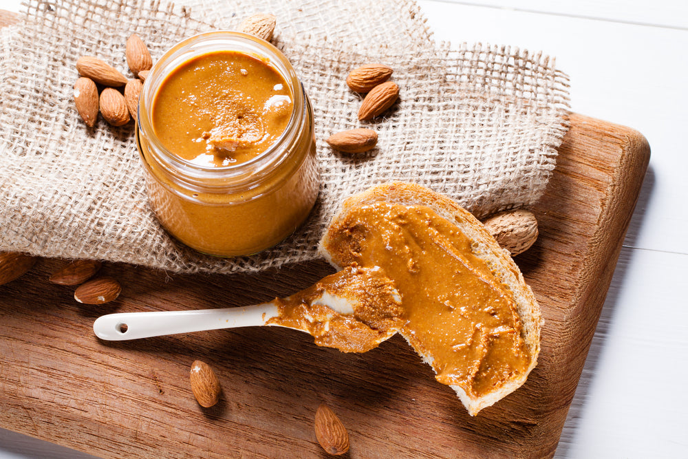 Homemade Almond Butter with Cinnamon and Honey