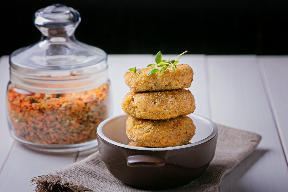 Masur Red Lentil Cutlets: Healthy Snack Time