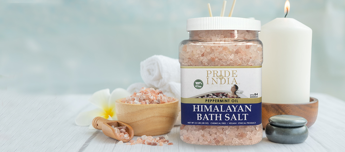 Himalayan Pink Bathing Salts (Jars)