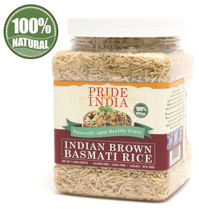 Extra Long Indian Brown Basmati Rice