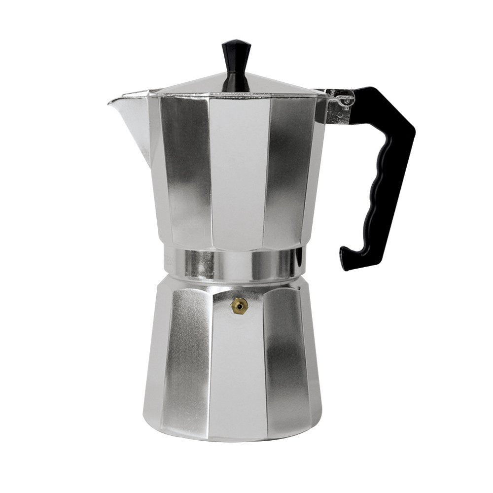 Classic Aluminum Stovetop Espresso Mocha Coffee Makers - Pride Of India