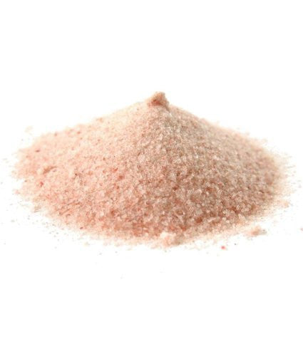 Himalayan Pink Salt Ground (Senda Namak), Half Pound (8oz - 227gm) Pack