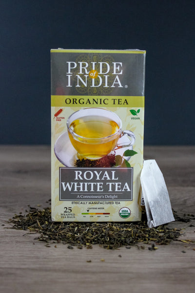 Organic Indian Royal White Tea Bags
