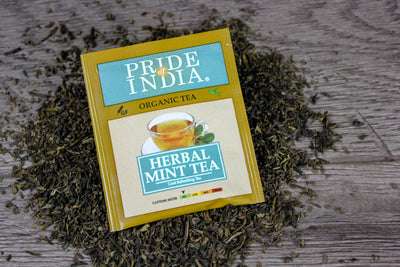 Organic Herbal Mint Tea Bags