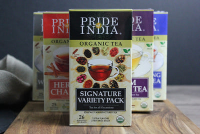 Organic Assorted Signature Variety Tea Bags - Pride Of India