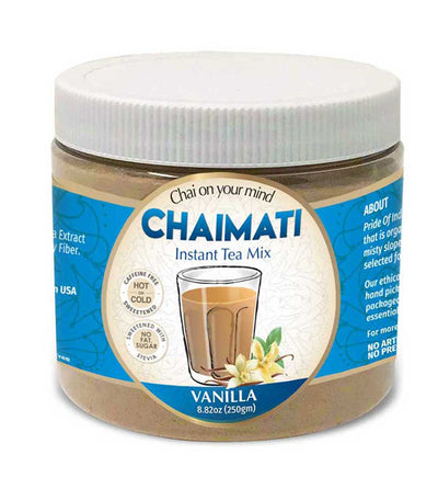ChaiMati - Vanilla Chai Latte - Powdered Instant Tea Premix - Pride Of India