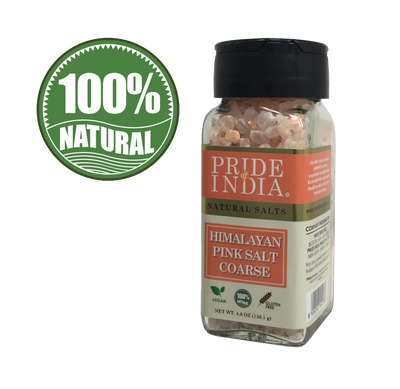 Himalayan Pink Rock Salt - Coarse Grind - Pride Of India