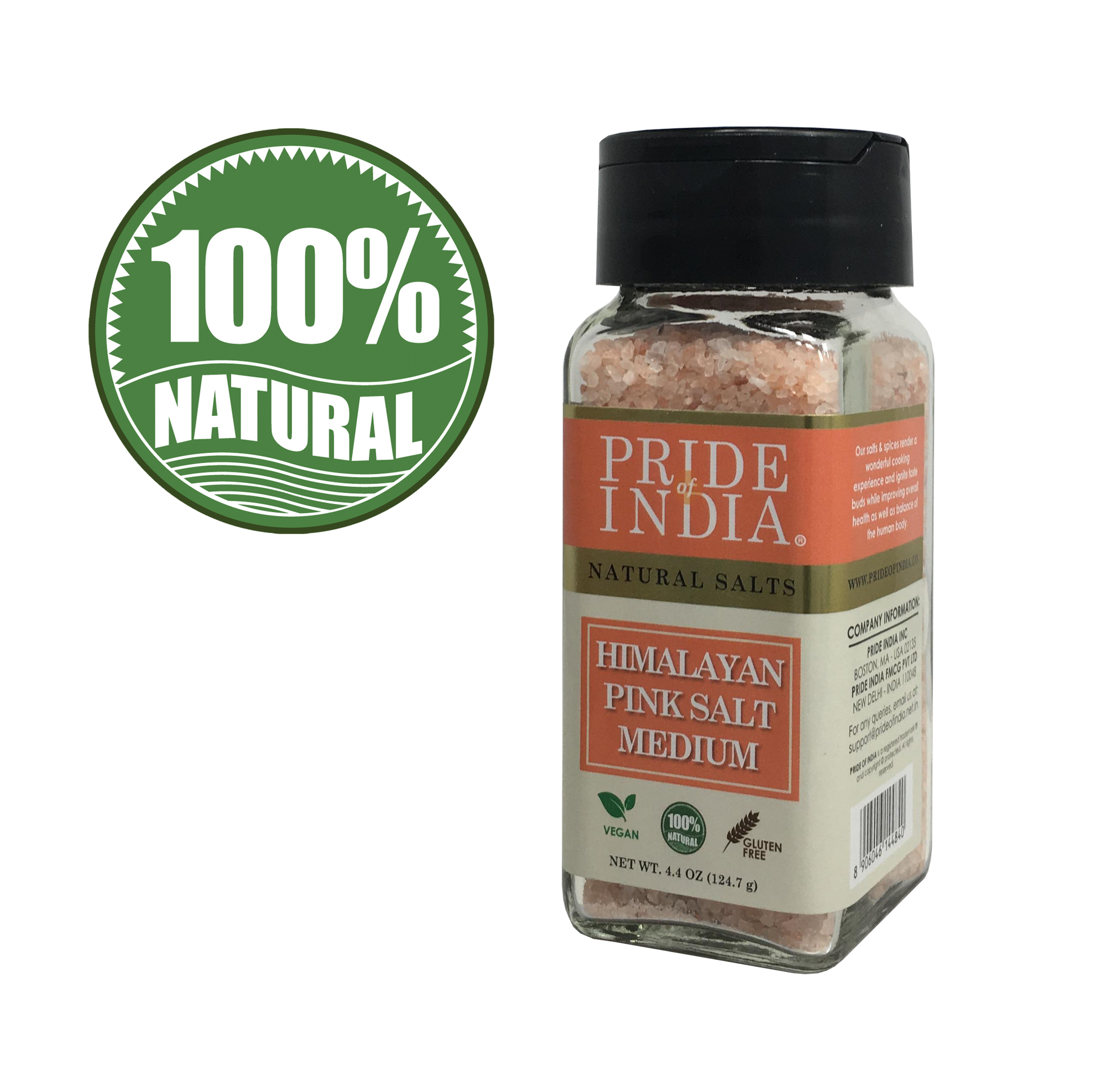 Himalayan Pink Rock Salt - Medium Grind - Pride Of India