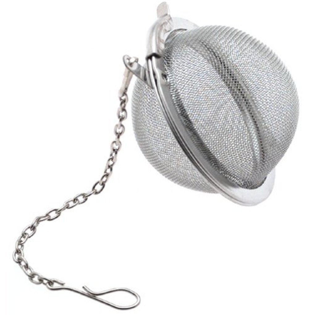 Stainless Steel Tea Ball Mesh Infuser - BUY 1 - GET 1 FREE (2 inch Diameter) - Pride Of India