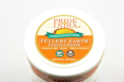 Fuller's Earth Deep Cleansing Clay Powder w/ Sandalwood