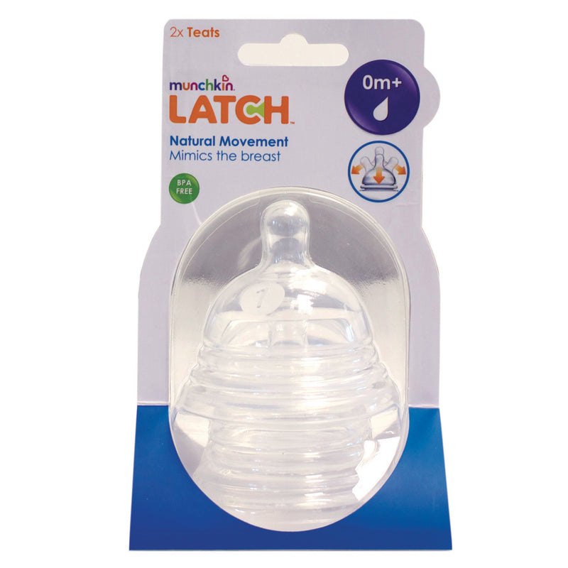 Munchkin Latch Stage 1 Nipple - 2 Pack
