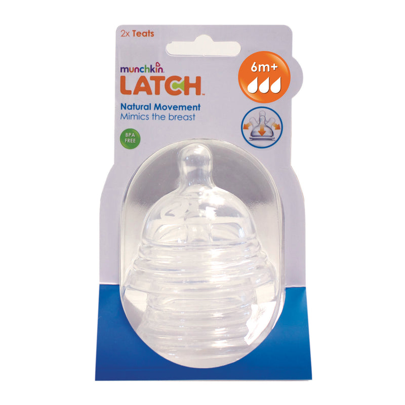Munchkin Latch Stage 3 Nipple - 2 Pack