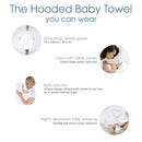 Baby Sense Hooded Apron Bath Towel