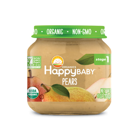Happy Family Organic Baby Food - Stage 1