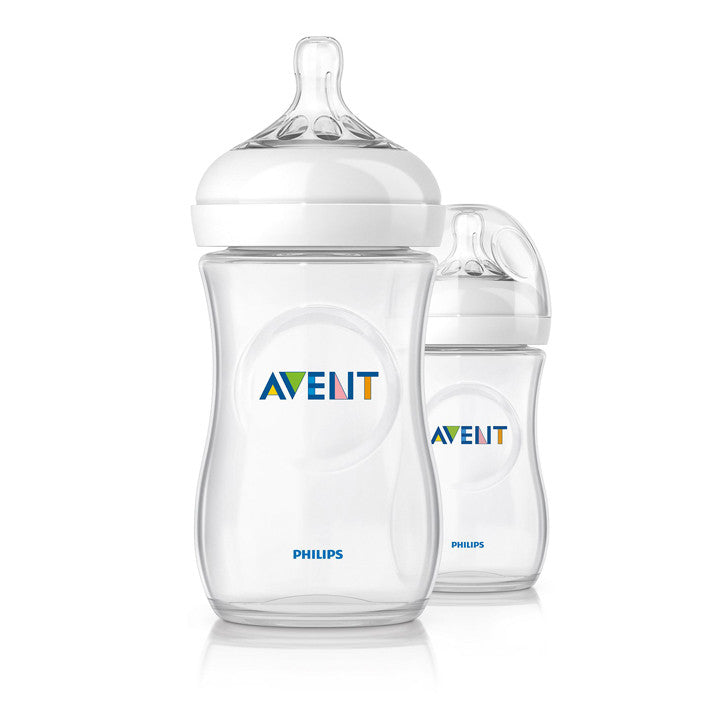 Philips AVENT Natural 2.0 Feeding Bottle 260ml - Twin Pack