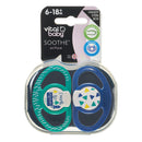 Vital Baby Airflow Soothers 6-18m - 2 Pack