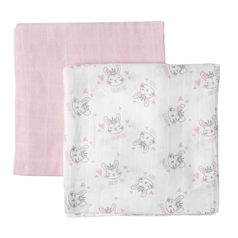 Character Group Muslin Blanket - 2-Pack