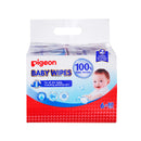 Pigeon Baby Wipes 80's 100% Water 6-in-1 Refills