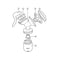 Philips Avent Replacement Manual Breastpump Handle