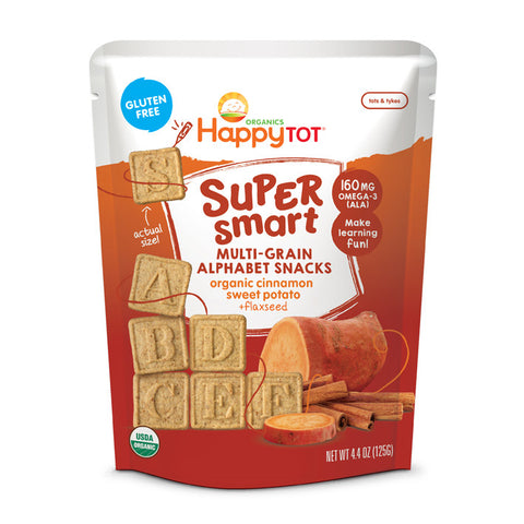 Happy Family Multi-grain Alphabet Snack