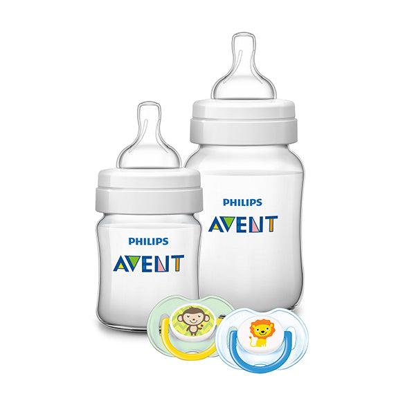 Philips AVENT Anti-Colic 'Theme-Book' Bottle Gift Set
