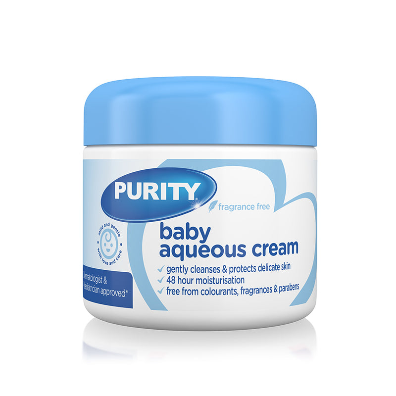 Elizabeth Anne's by Purity Baby Aqueous Cream Fragrance Free 325ml