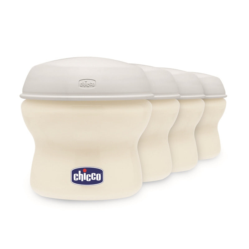Chicco Natural Feeling Breast Milk Containers