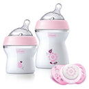 Chicco Natural Feeling Feeding Gift Set - Pink