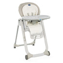 Chicco Polly Progres5 High Chair - White Snow