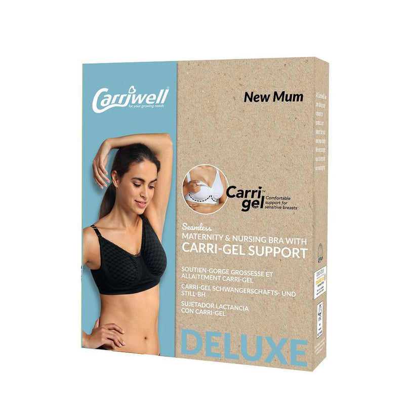 Carriwell Maternity & Nursing Bra with Carri-Gel Support - Deluxe Check