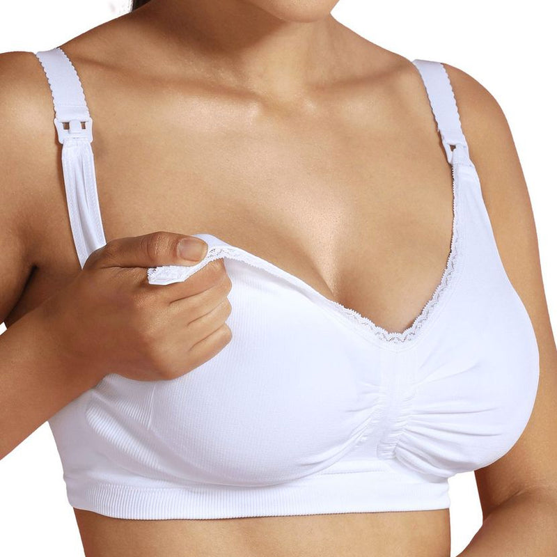 Carriwell Maternity & Nursing Bra with Padded Carri-Gel Support